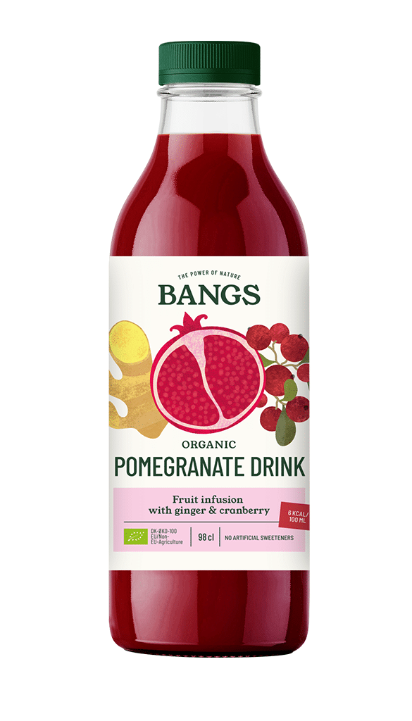 Pomegranate and cranberry drink