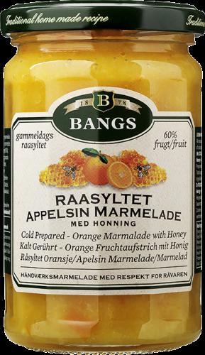 Råsyltet appelsin bangs
